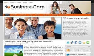 Business Corp Blogger Template