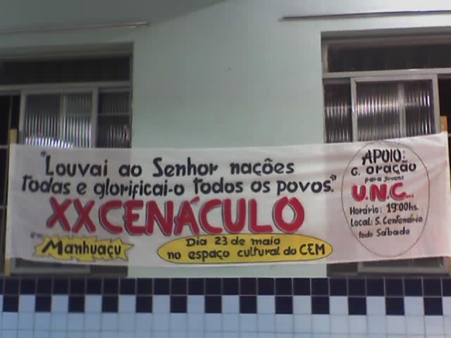 FOTOS  XX CENÁCULO