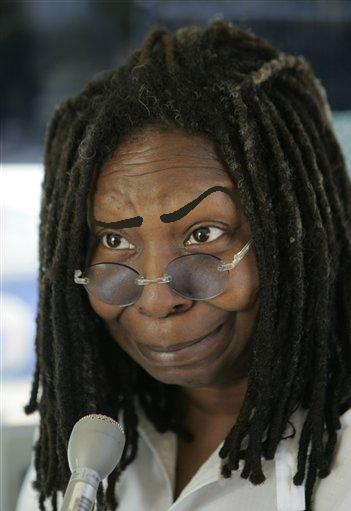 Whoopi have eyebrows no why does goldberg Discover why