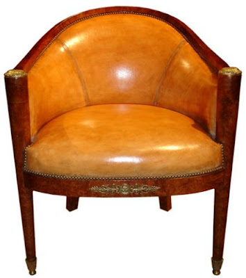 And lastly a third bergere this one 19th c french burl walnut charles x the period just after the empire 1815 1834 and still in the neoclassical style