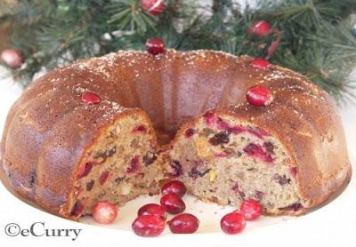 Cranberry Celebration Bundt Cake Kroger