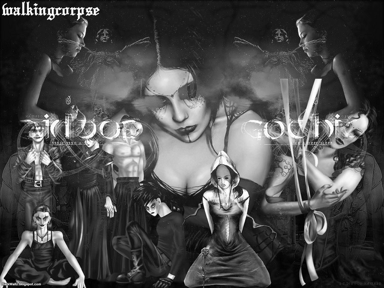 Gothic Party | Dark Wallpaper Download