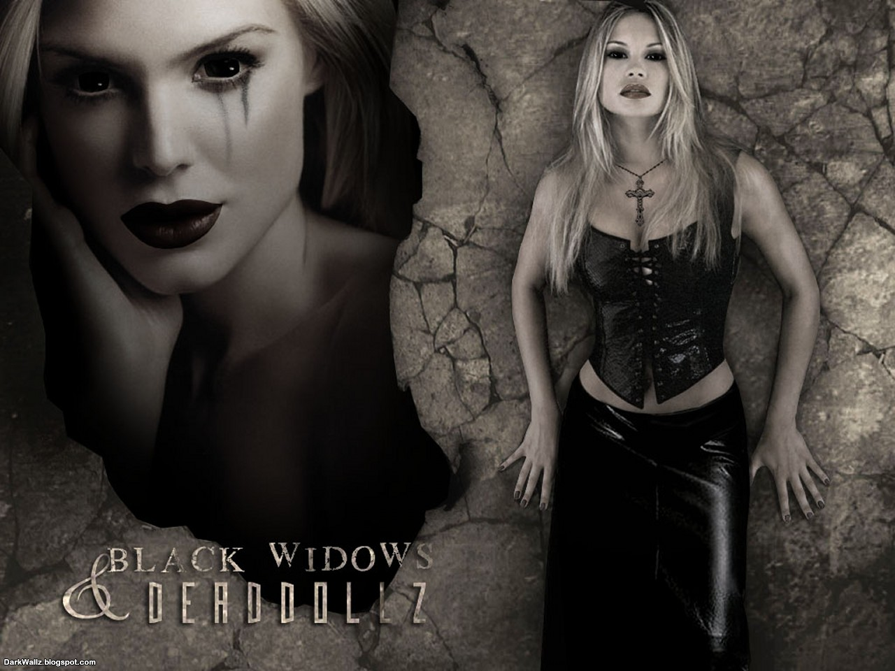 Black Widows and DeadDollz | Dark Wallpaper Download