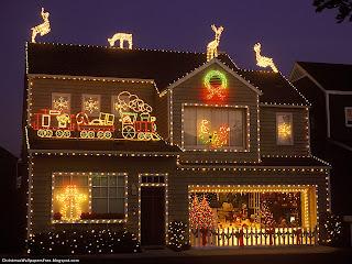 Christmas Lightings HD Desktop Wallpapers