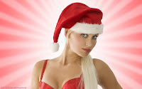 Sexy Christmas Girls HD Wallpapers