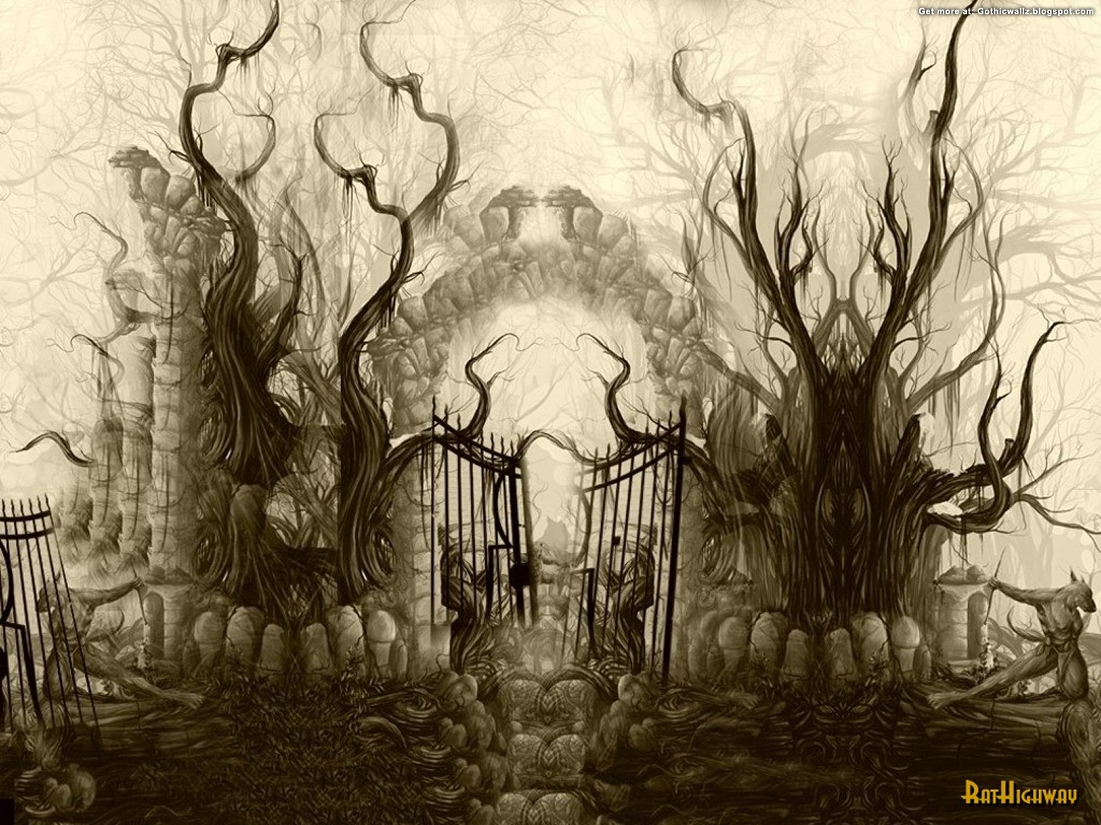Horrifique | Gothic Wallpaper Download