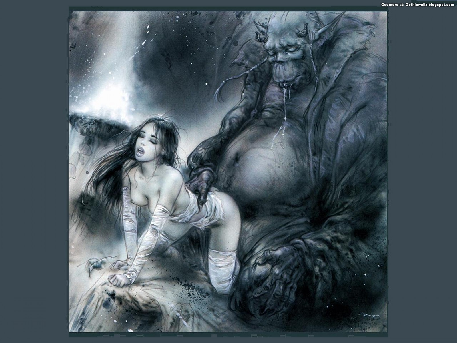 Monster Fantasy | Gothic Wallpaper Download