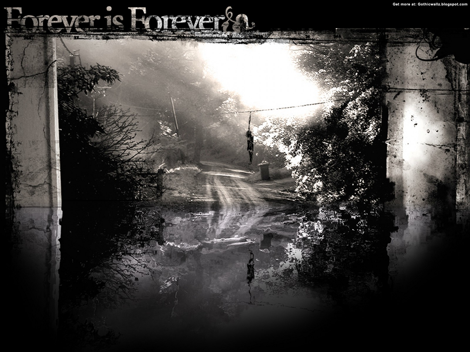 Forever is Forever Wallpaper | Gothic Wallpaper Download