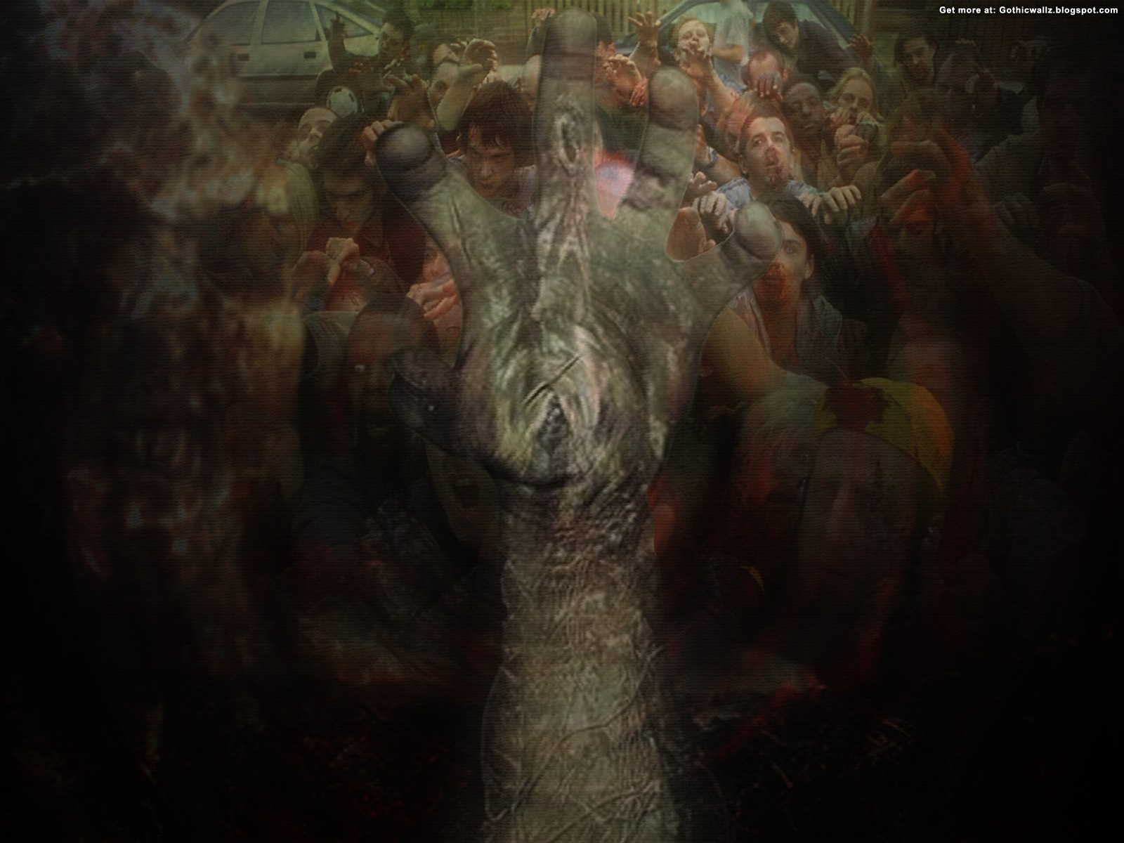 zombie | Gothic Wallpaper Download