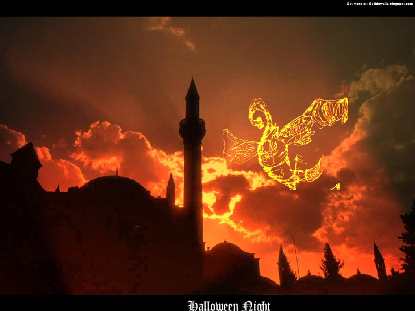 HaLLoWeeN NiGhT | Gothic Wallpaper Download