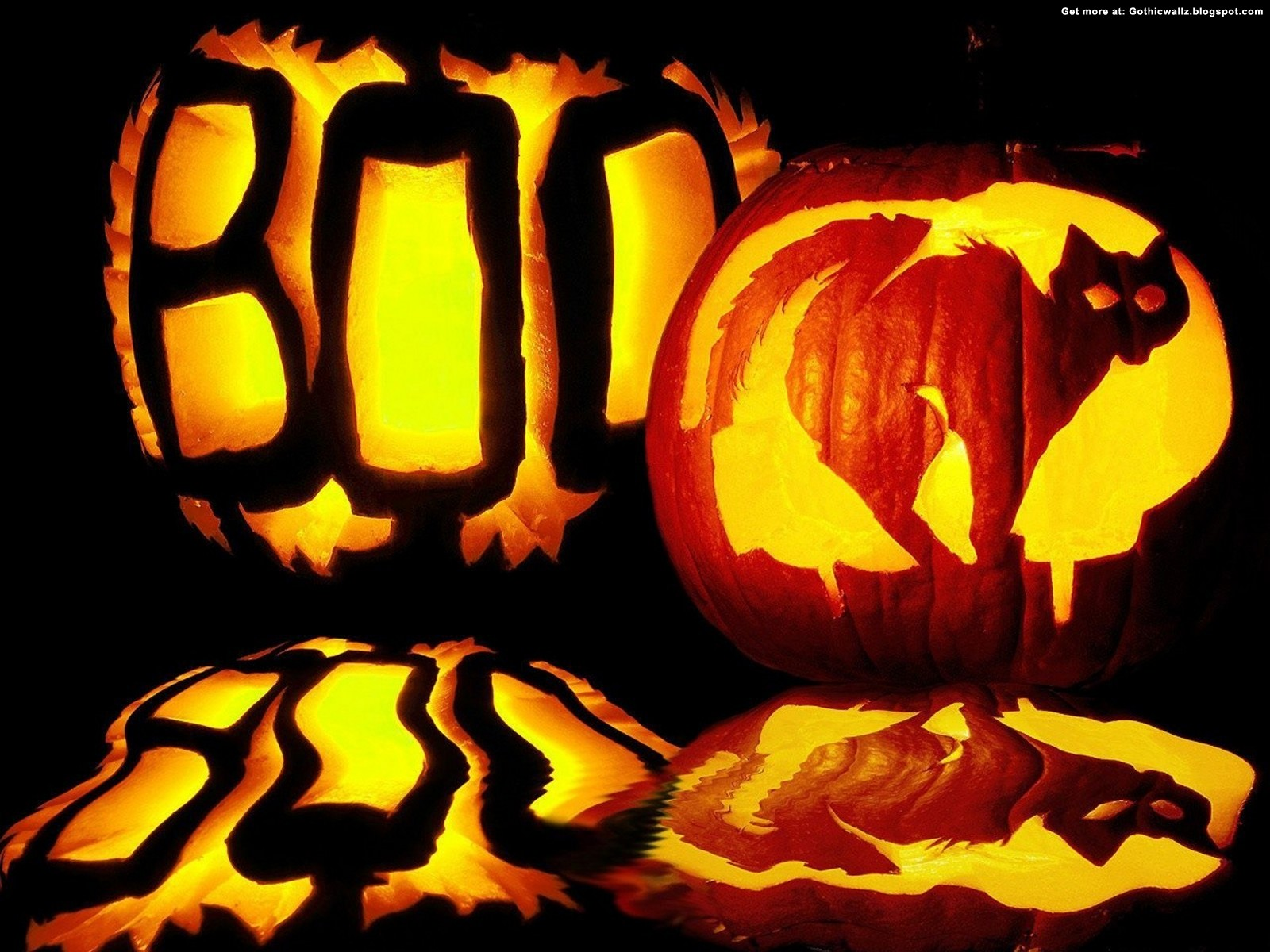boo halloween | Gothic Wallpaper Download