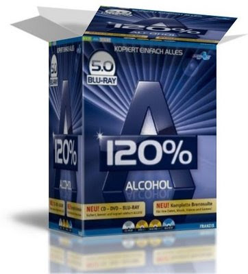 Alcohol 120% 5.0 Blu-Ray + Serial 2009 alch 5B1 5D