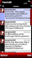 tweets60 auf Nokia 5800