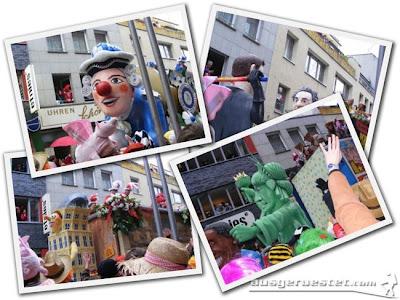 Karneval Rosenmontag Ausrüstung