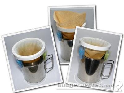 Sonja Dauerkaffeefilter myog Filteraufsatz