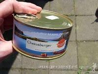 Trekking Mahlzeiten Dosenburger - Cheeseburger aus der Dose