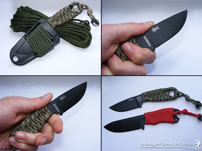 RAT Cutlery Izula Outdoor Messer - Vergleich Becker Necker