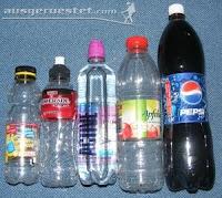 PET Trinkflasche ultraleicht