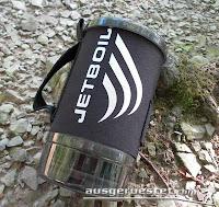 Jetboil Flash verpackt