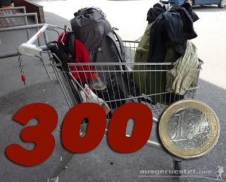 Ultraleicht Trekking Ausrüstung unter 300€
