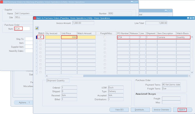 Oracle Apps Adf Soa Create Complex Po And Invoice With Retainage