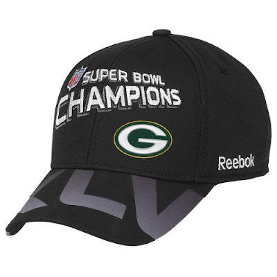 The Reebok® Green Bay Packers Super Bowl® XLV Champions hat is the ultimate