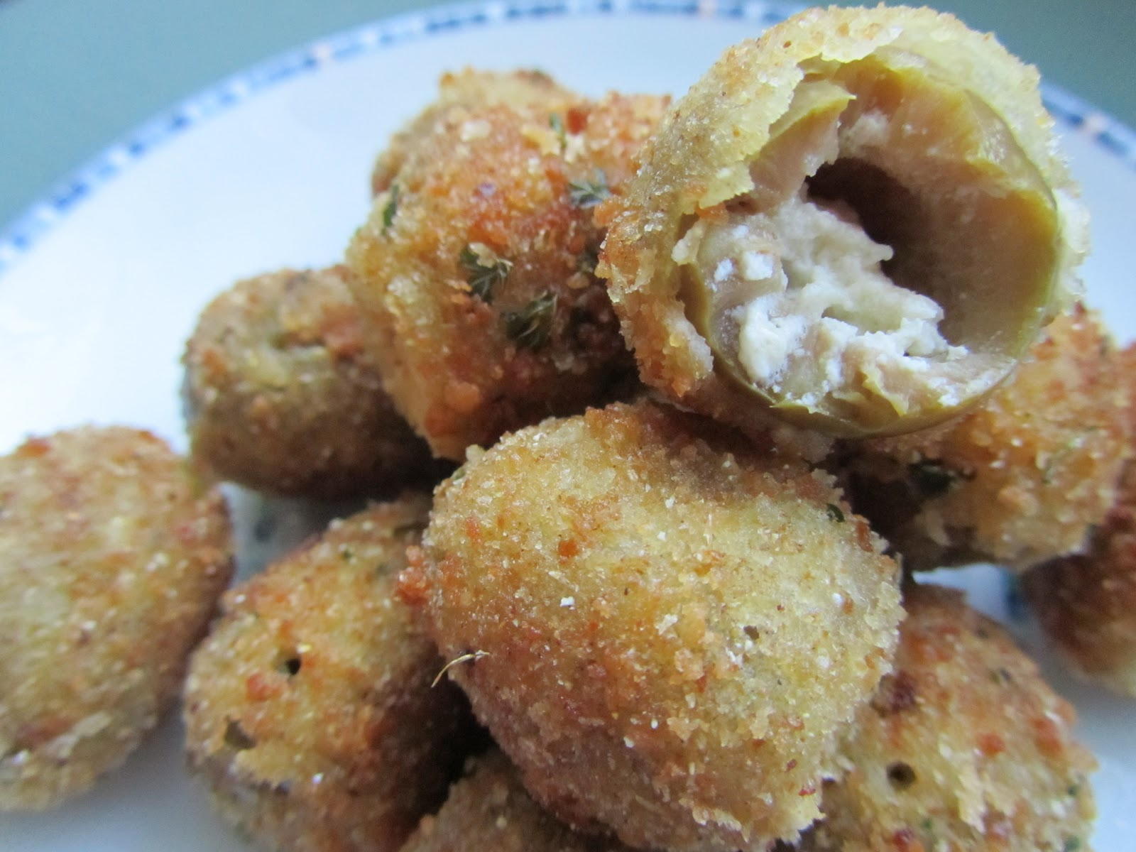 Cook's Book: Olive You, Stuffed Fried Olives