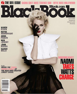 naomi Watts in BlackBook