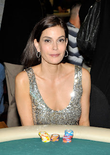 Teri Hatcher's Poker Face