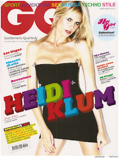 Heidi Klum In GQ Magazine Italian Edition December 2008
