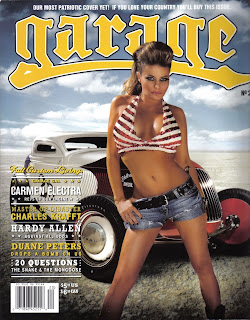 Carmen Electra in Garage