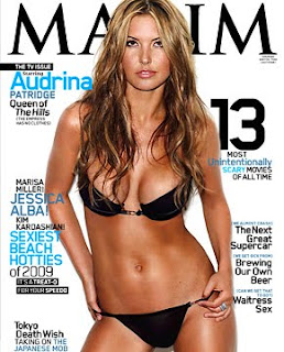 Audrina Patridge In Two Piece on Maxim Mag