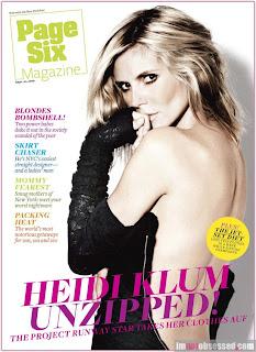 Heidi Klum - PageSix Magazine,