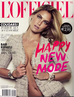 Bar Refaeli Sexy On L Officiel