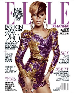Rihanna Elle Magazine July 2010 Cover Picture