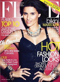 Nelly Furtado in Flare Magazine