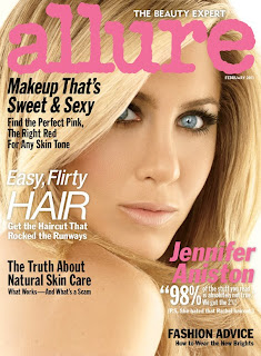Jennifer Aniston - Allure magazine February 2011 issue