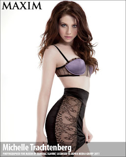 Michelle Trachtenberg - Maxim magazine March 2011 issue