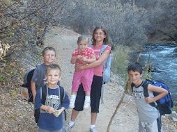 A hike up Diamond Fork