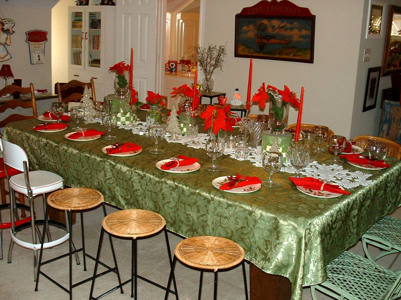 Ruby Grace\'s: Upstairs at the Annual Christmas Party...Seating for 28