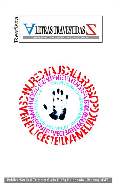 revista letras travestidas nº9