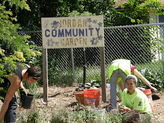 Busy Day for NoMi Community Gardens