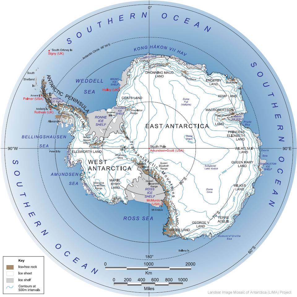 Polar Soils Blog About McMurdo Station