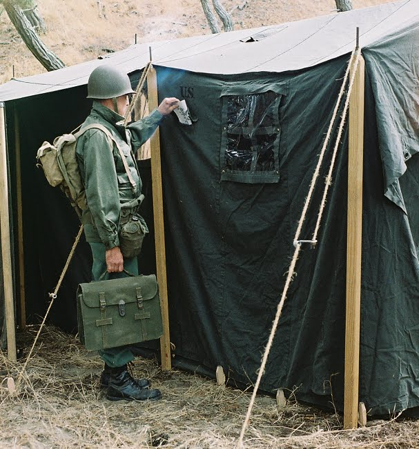 Armbruster 1942 Command Post Tent & Armbruster Manufacturing Co. | Armbruster 1942 Command Post Tent
