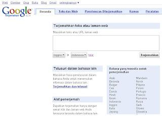 Google Translate - Kamus Bahasa Online