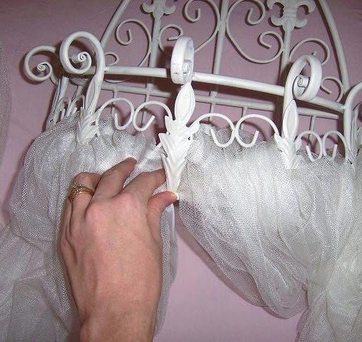 How To Make A Crib Canopy Out Of Tulle Live Like You Are ...