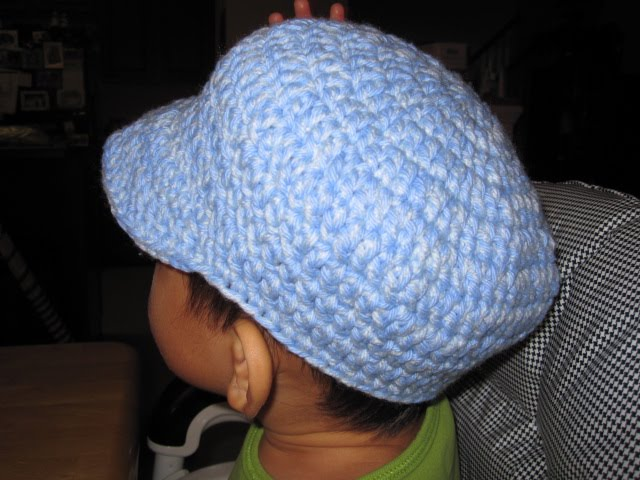 FREE CROCHET PATTERN FOR NEWSBOY CAP - Crochet and Knitting Patterns