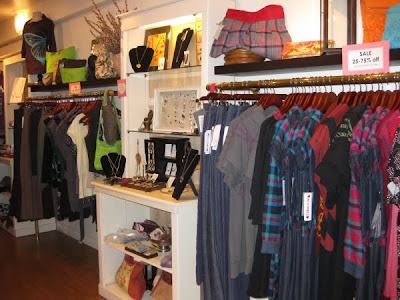 Fashion Boutique Interior on Guests Browsed The Locally Designed Clothing And Accessories As They