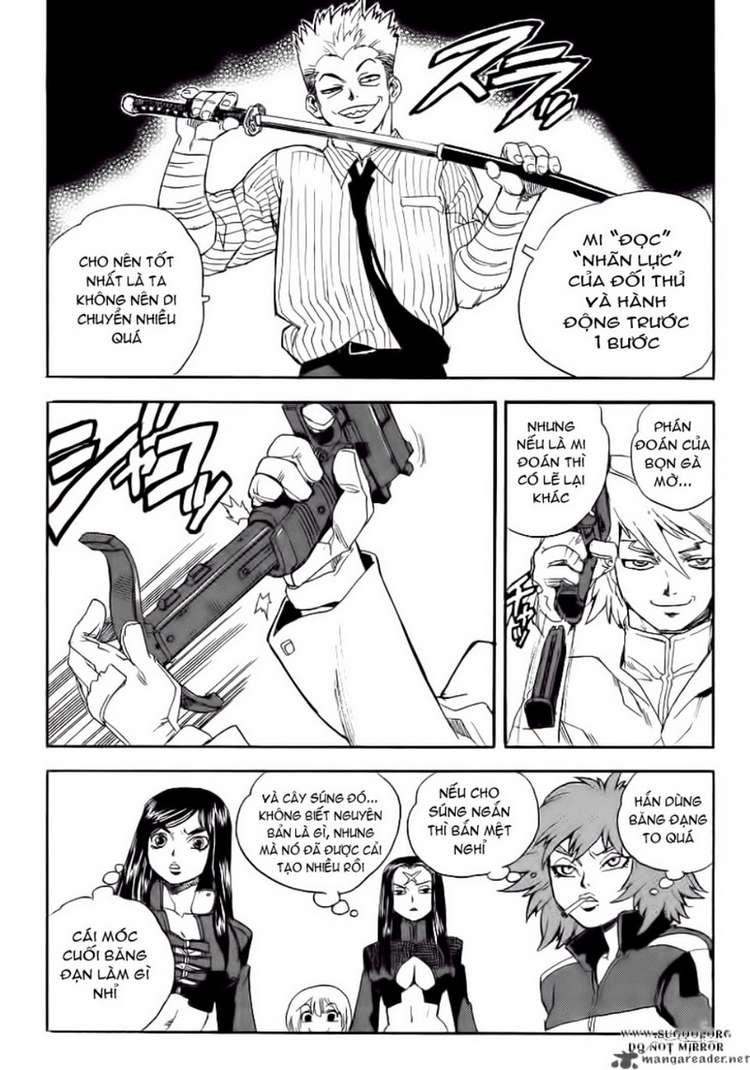 Aiki chap 64 - Trang 18