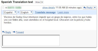 Email in Spanish Language